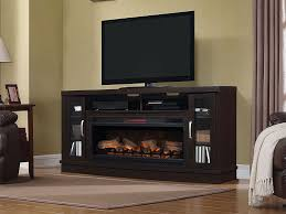 hutchinson infrared electric fireplace entertainment center in oak espresso 42mm3115 pe91