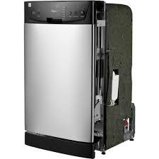 Dishwasher Purchase And Installation Midea 18 Built In Dishwasher Walmartcom