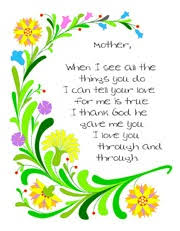 Small Picture The 25 best Mothers day poems ideas on Pinterest Easy mothers