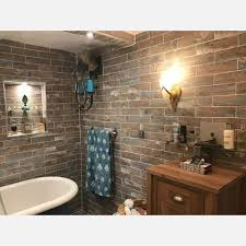 decape rustic brick wall and floor