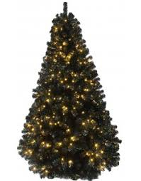 the prelit black iridescence pine tree with warm white lights 3ft to 10ft christmas tree images r56