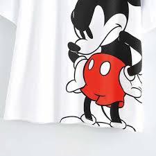 Disney Chuột Mickey Dễ Thương Hoạt Hình In Chữ Kim Sa Lấp Lánh ...