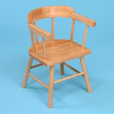 2 x wooden children s captains chairs