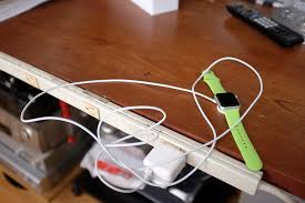 long usb cord attached to the charging