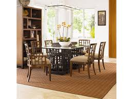 Tommy Bahama Kitchen Table Tommy Bahama Home Ocean Club Double Pedestal South Sea Rectangular