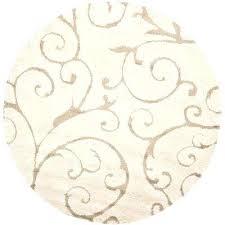5x5 round rug cream beige 8 ft x 8 ft round area rug 5x5 rug 5x5 round rug