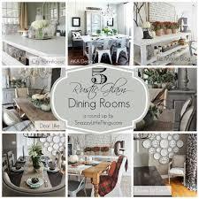 5 rustic glam dining rooms rustic