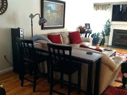 behind couch bar table furniture