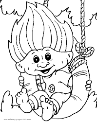 Trolls Coloring Pages Arenda Stroy