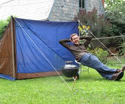 the near perfect tent design and build a recycled tent