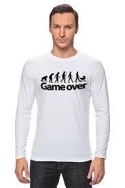 <b>Лонгслив Game</b> Over (Игра Окончена) #661467 от coolmag по ...