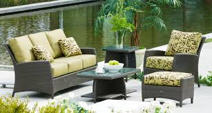 Crosley Palm Harbor 5 Piece Outdoor Wicker High Dining Set  Table Palm Harbor Outdoor Furniture