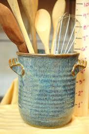vintage utensil holder vintage utensil holder vintage home utensil jar vintage pottery utensil holder