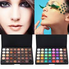 dels about 40 colour eye shadow makeup cosmetic shimmer matte eyeshadow palette set 2 style