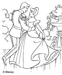 Coloriage Cendrillon Les Beaux Dessins De Disney Imprimer Et