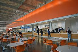 the pavilion opened in aug 2018 the 600 seat dining facility includes three