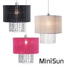 modern fabric ceiling pendant chandelier light shades