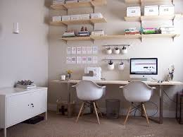 ikea office space. Perfect Office DIY Ikea Desk For The Officeshared Work Space Mister And Me For Office Space G