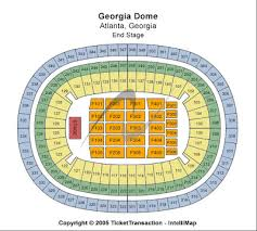 Chastain Park Amphitheatre Seating Chart Georgia Dome Seating Chart Check The Seating Chart Here