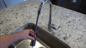 Kitchen Faucet Hose Replacement Moen Pulldown Spray Hose Youtube