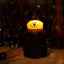 Pine Cone Candles Christmas Cone Candles Promotion Shop For Promotional Christmas