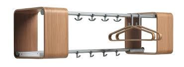 decorative wall mounted coat racks decoration modern rack hanger