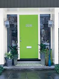 modern front door colors. Interesting Door A Modern Home Deserves A Cool Shade Of Green In Its Front Door Intended Modern Front Door Colors
