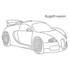A Bugatti Veyron Car Sports Coloring Pages Gerrydraaisma