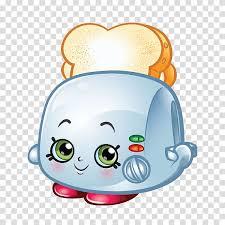 Toast Shopkins Stuffing Cake Bread, avocado <b>character transparent</b> ...