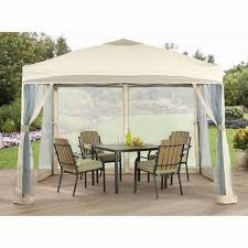 1010 outdoor gazebo pergola canopy screen tent steel netting recettemoussechocolat