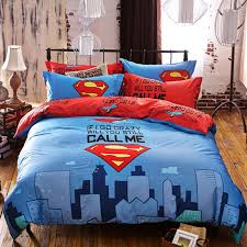 pictures gallery of king size superman bedding share