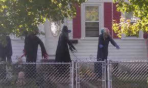 Scary Outdoor Halloween Decorations Plans Scary Halloween