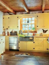 yellow country kitchens. Perfect Country 23 Perfect Color Ideas For Painting Kitchen Cabinets That Will Add  Personality To Your Home Yellow Country  Inside Kitchens I