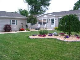 Best Backyard Design Ideas Classy Landscaping Ideas For Mobile Homes Mobile Home Living Manufactured