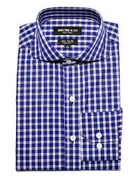 Pattern Shirts Beauteous Men's Pattern Shirts Slim Fit Blue Plaid Dress Shirt