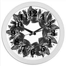Часы круглые из пластика Строгая <b>классика</b> #2597335 от Ольга ...