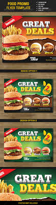 food promo flyer template fonts restaurant and flyers food promo flyer template