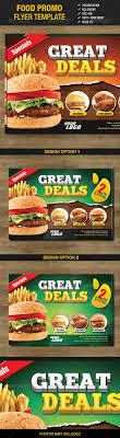 food flyer templates eee restaurant restaurant food promo flyer template