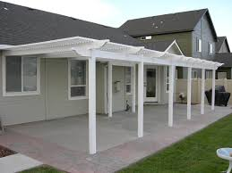 detached wood patio covers. Plain Wood Patio Covers White Throughout Detached Wood V