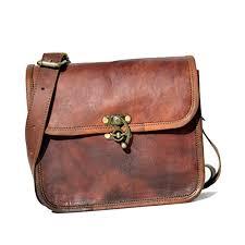 leather women s hippie leather purse cross shoulder bag travel satchel handbag tote 9 x 7
