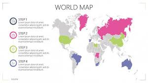 Powerpoint World World Map Free Powerpoint Template