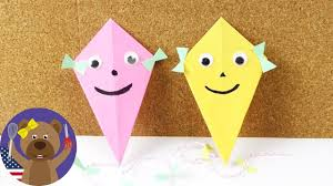 How To Make Kite With Papers How To Make Kite With Chart