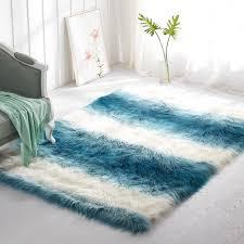 home interior high tech furry area rugs 10 12 faux fur rug mosaic found clean