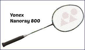 Yonex Racquet Chart 2013 Yonex Nanoray 800 Badminton Racquet Review