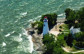 Beacon Of Light Toledo Ohio The Marblehead Lighthouse In Marblehead Ohio Marblehead