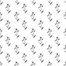 一种简约的图案 在浅色背景上有树枝和花 矢量图像 白色背景 简洁的设计