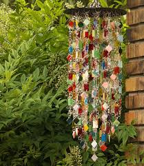 hand made create your own stained glass wind chime suncatcher one