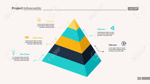 Diagram Of A Pyramid Five Level Pyramid Chart Diagram Slide Template Creative
