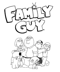 Small Picture Family Guy Coloring Pages Family Guy Pinterest Family guy