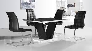 dining tables black dining table and chairs simple ideas decor exquisite chair gorgeous design glass tables